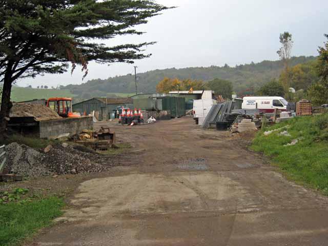 Rural  builder's yard at Dalcur