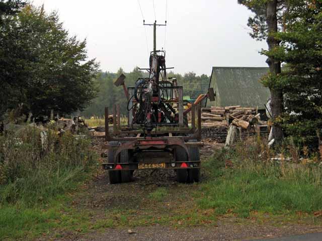 Sawmill at Milton, Straiton