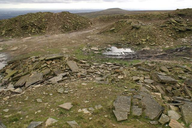 Ding Quarry, Hail Storm Hill
