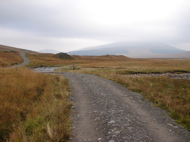 The track to Ben Alder