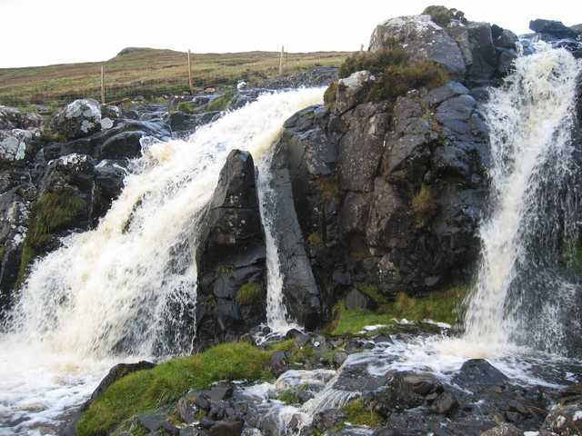 Waterfall on the Lon Coire Chaiplin
