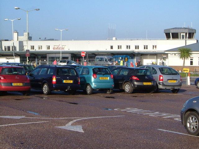 Exeter Airport terminal