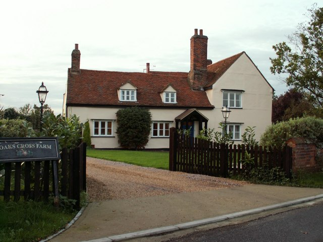 Farmhouse at Noaks Cross Farm
