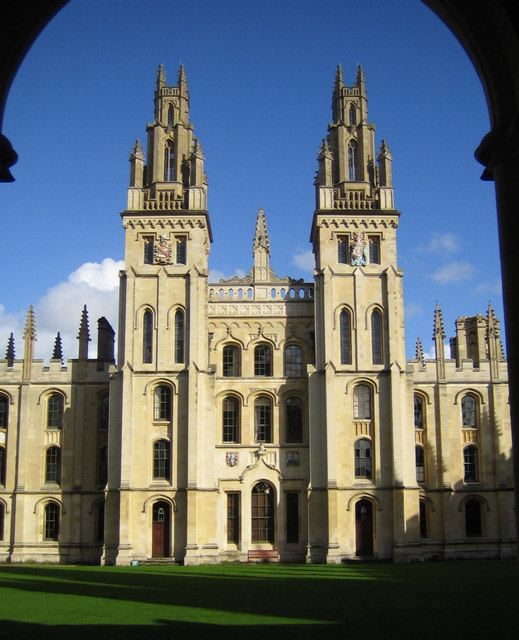 Oxford: All Souls College