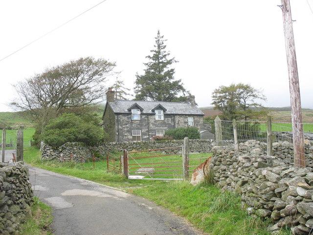 Tyddyn Mawr - a former farmhouse