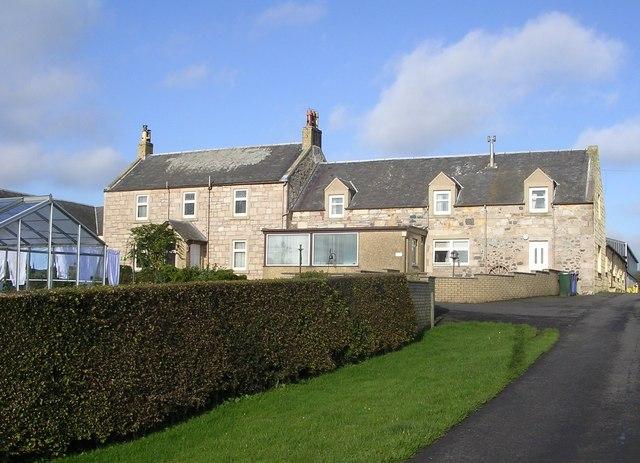 West Tannacrieff Farmhouse