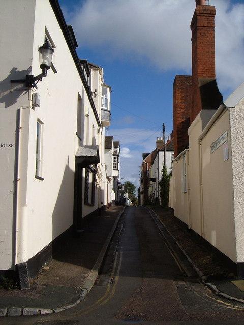 Higher Shapter Street, Topsham