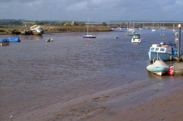 River Exe from Topsham Quay