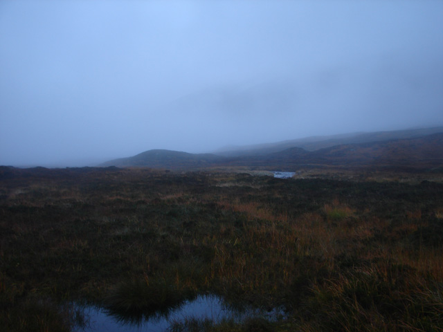 Bog in the upper glen of Allt Coire a' Labhair