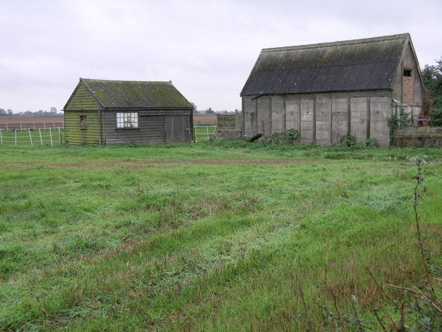 Sheds in a Field