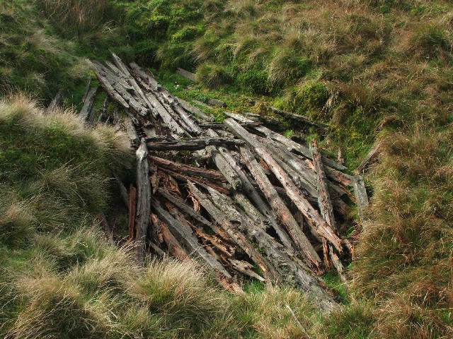 Fenceposts in a Hole.