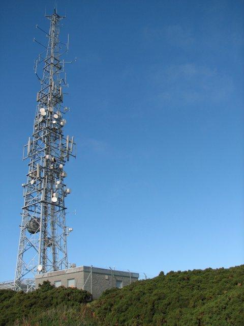 Braid Hills communication mast