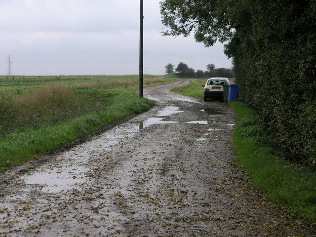 Wet Track to the Bank