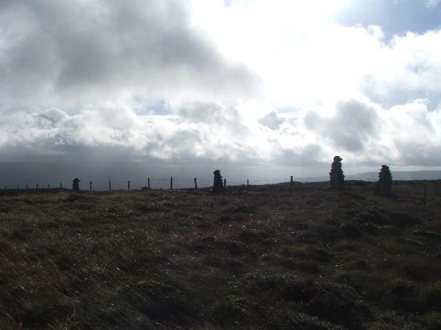Curricks on Yockenthwaite Moor.