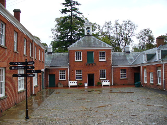 The Courtyard, Hatchlands