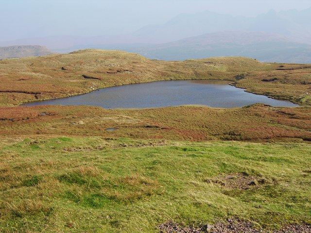 Lochan on Beinn Bhreac