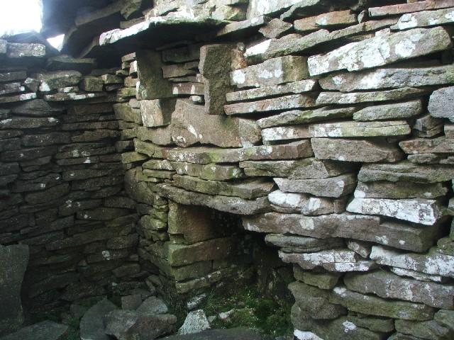 Internal View of Small Dwelling on Yockenthwaite Moor.