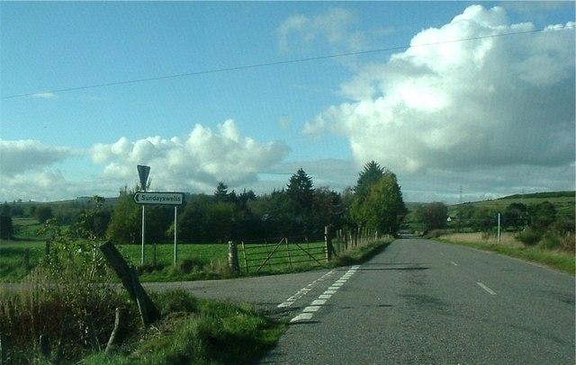 Sundayswells road junction.