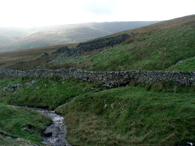 Sheepfold on Chapel Moor.