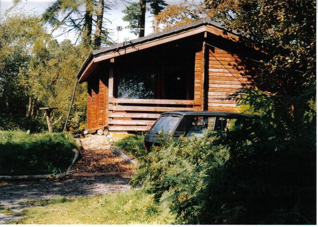 Log cabin, Torwood House Hotel