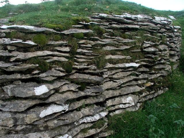 Worn Limestone.