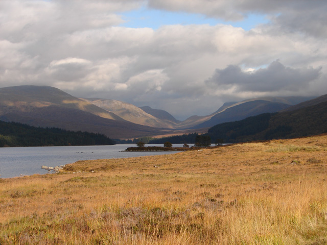 Loch Ossian and beyond