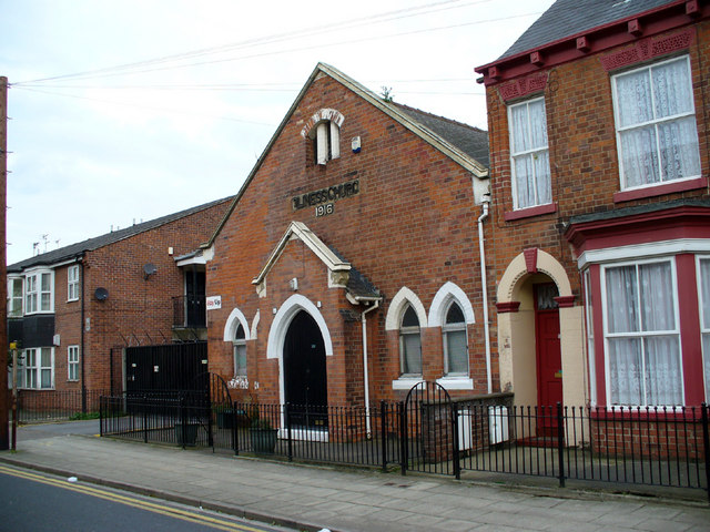 Holiness Church, Coltman Street