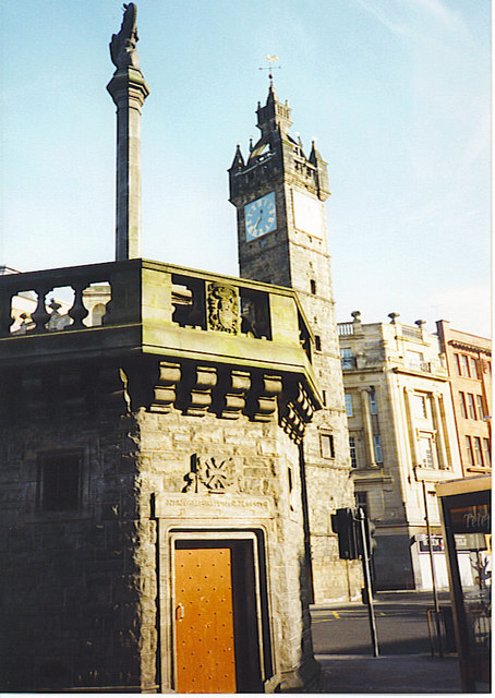 Glasgow Mercat Cross and Tolbooth