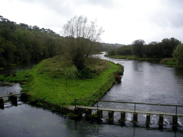 River Test, between Fullerton and Chilbolton