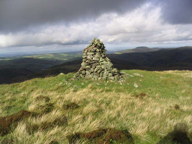 Callaw Cairn in the Cheviot Hills