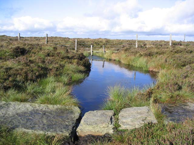 A pool by the Pennine Way