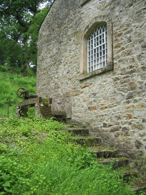 The 'new' mill behind Gresgarth Hall