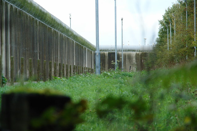 Frankland Prison - Rear Elevation