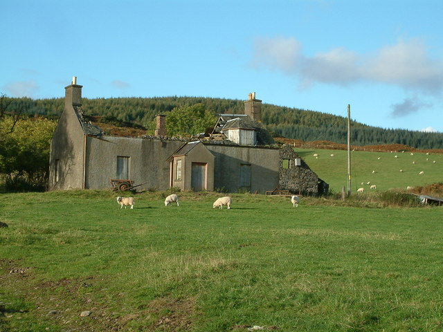 Ruined farmhouse at Coilantogle