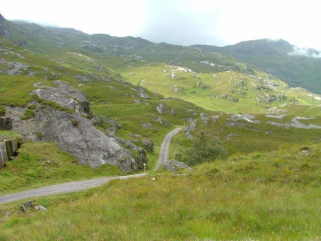Kinloch Hourn Road