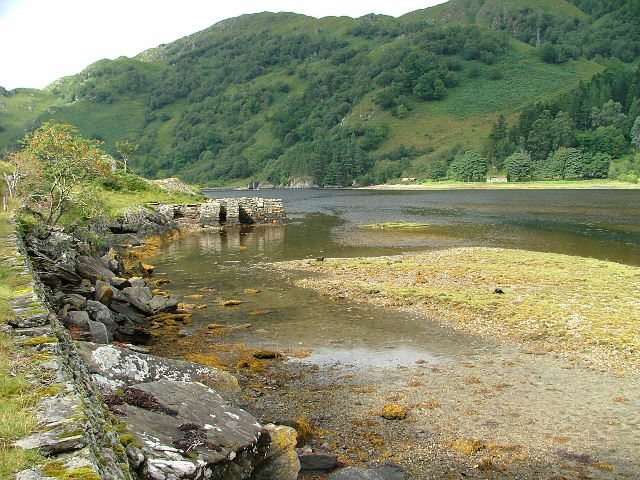 Old Jetty on Loch Beag