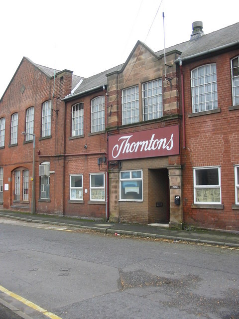 Former Thorntons Factory at Belper
