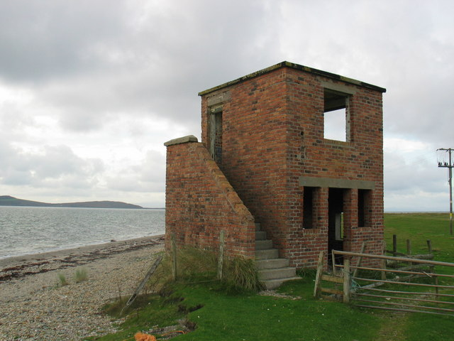 WW2 lookout tower.