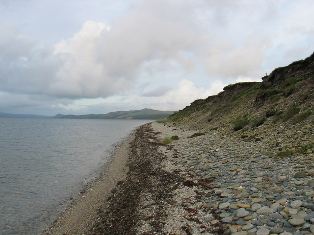 Shoreline walk of The Kintyre Way.