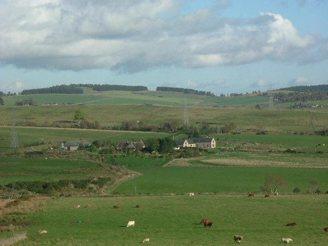 View of 'Meadow' farm