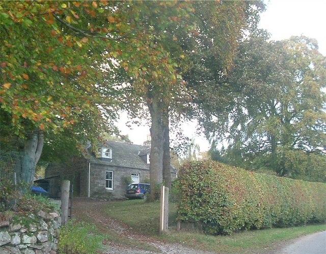 Cloak House, Lumphanan.