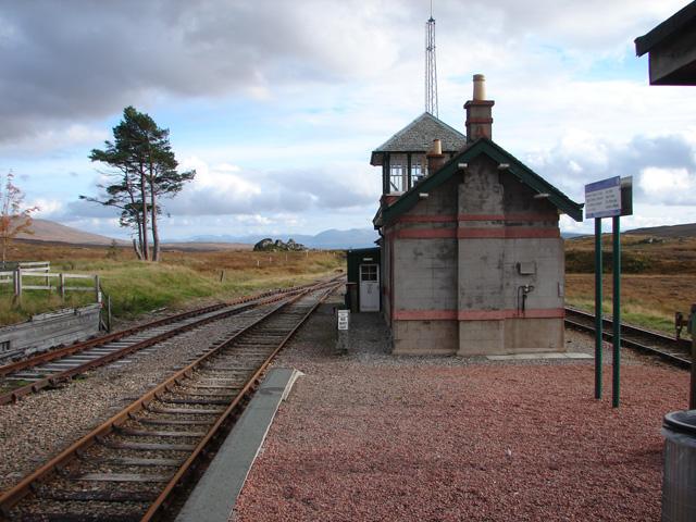 Corrour Station