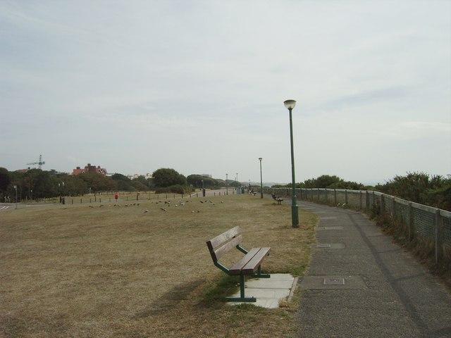 Clifftop park, Boscombe
