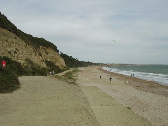 Beach near Highcliffe
