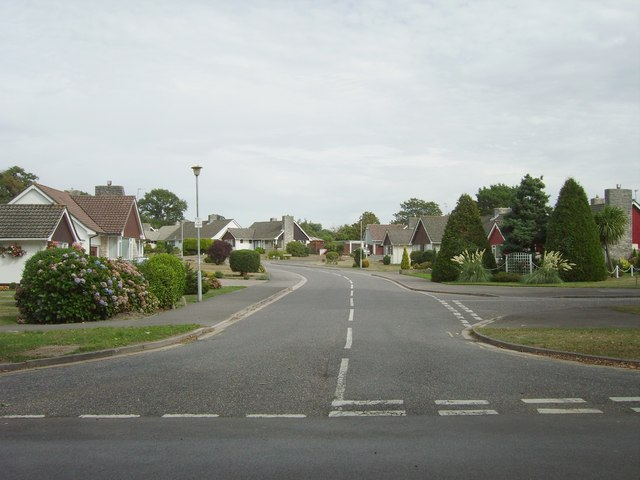 Housing estate, Highcliffe