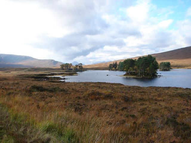 Beside Loch Ossian