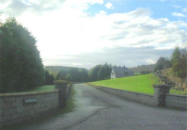 Entrance to Greenburn Farm