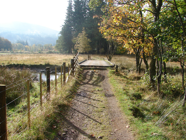 Track through the Corrour Estate