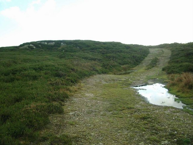 The track to Logiealmond