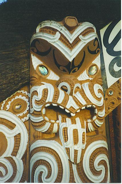 Maori Carving, Clandon Park